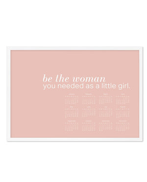2020 Be The Woman Calendar - Olive et Oriel