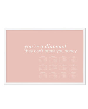 2020 You're A Diamond Calendar - Olive et Oriel