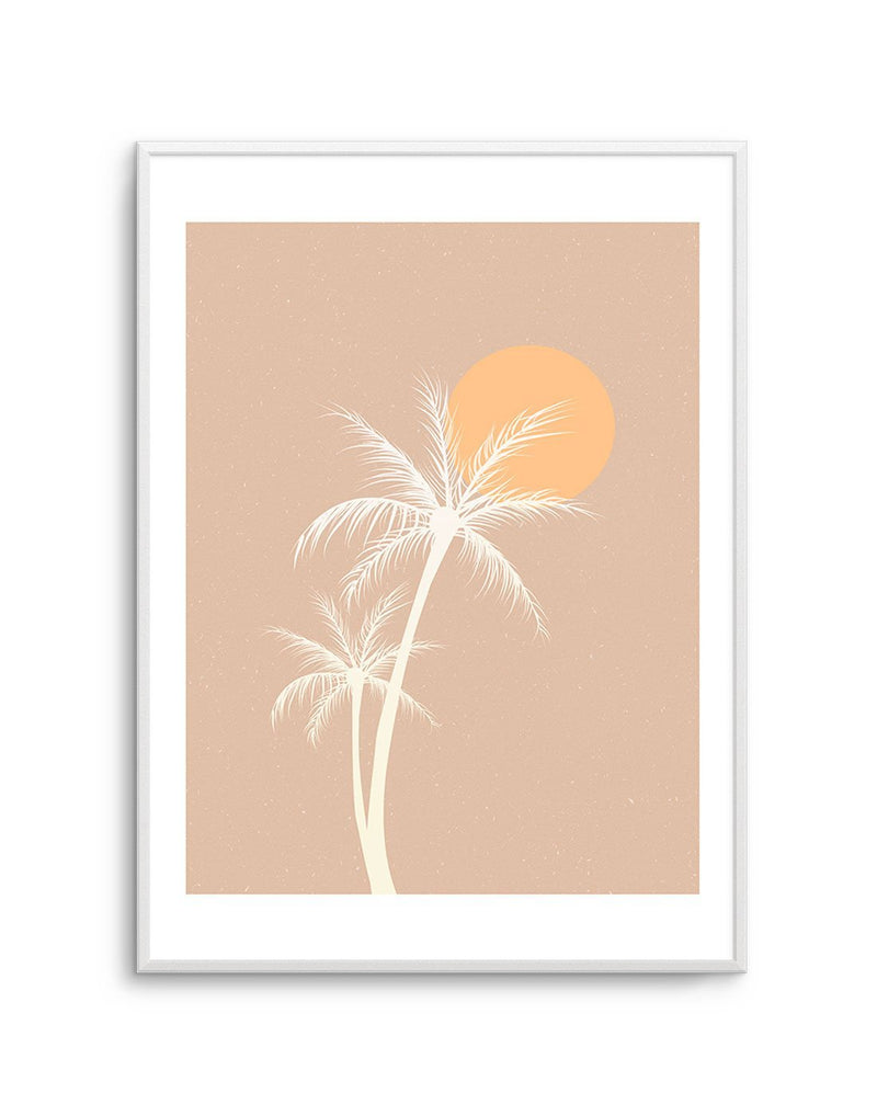 70s Sunset Palm - Olive et Oriel