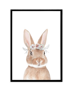 Little Bunny | Flower Crown, Bubble