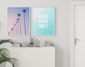 Good Vibes Only | Ocean - Olive et Oriel | Shop Art Prints & Posters Online