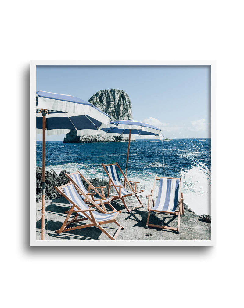 Fontelina In The Sun, Capri  | Square