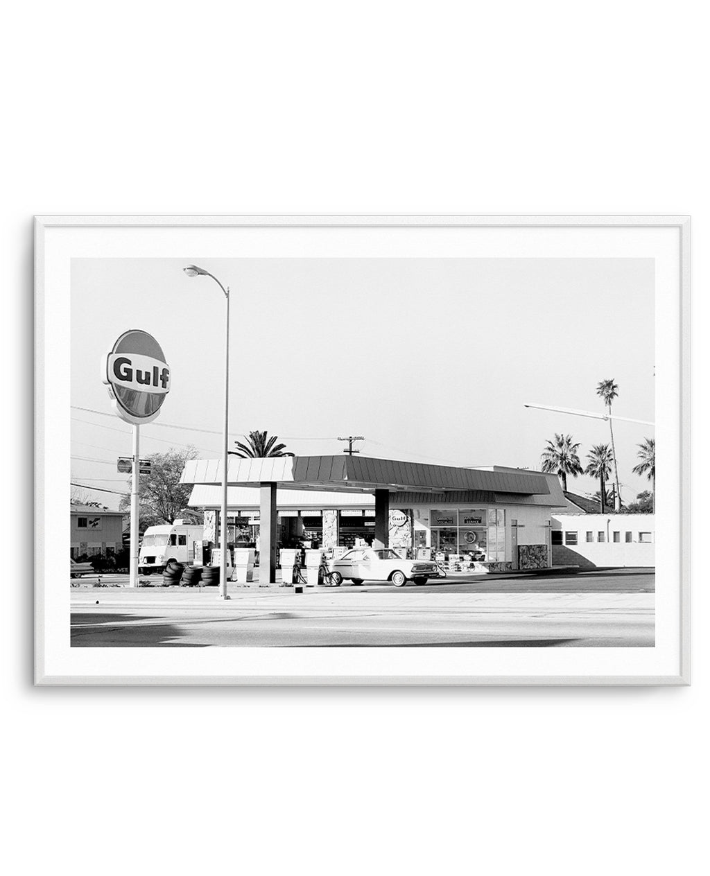Palm Springs Gas Station