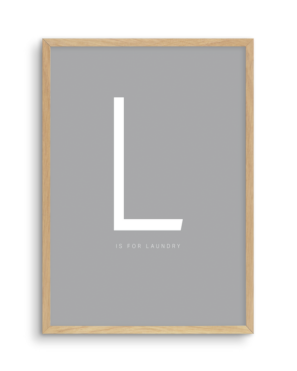 L is for Laundry