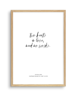 Love Quote 1 | Personalise Me!