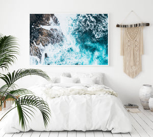 White Washed | Merimbula - Olive et Oriel | Shop Art Prints & Posters Online