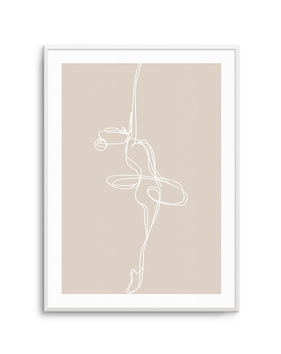 Abstract Ballerine - Olive et Oriel | Shop Art Prints & Posters Online