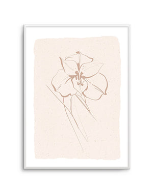 Abstract Botanical | Lily - Olive et Oriel