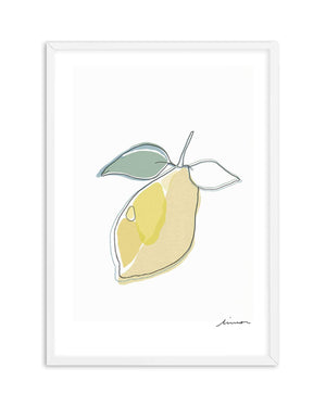 Abstract Limone - Olive et Oriel