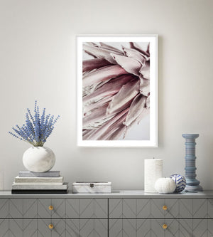 Abstract Protea No II - Olive et Oriel