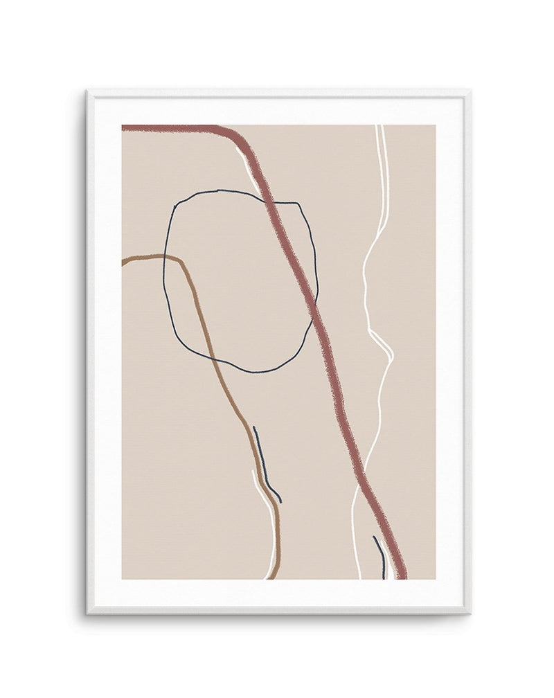 ABSTRACT SERIES NO III - Olive et Oriel | Shop Art Prints & Posters Online