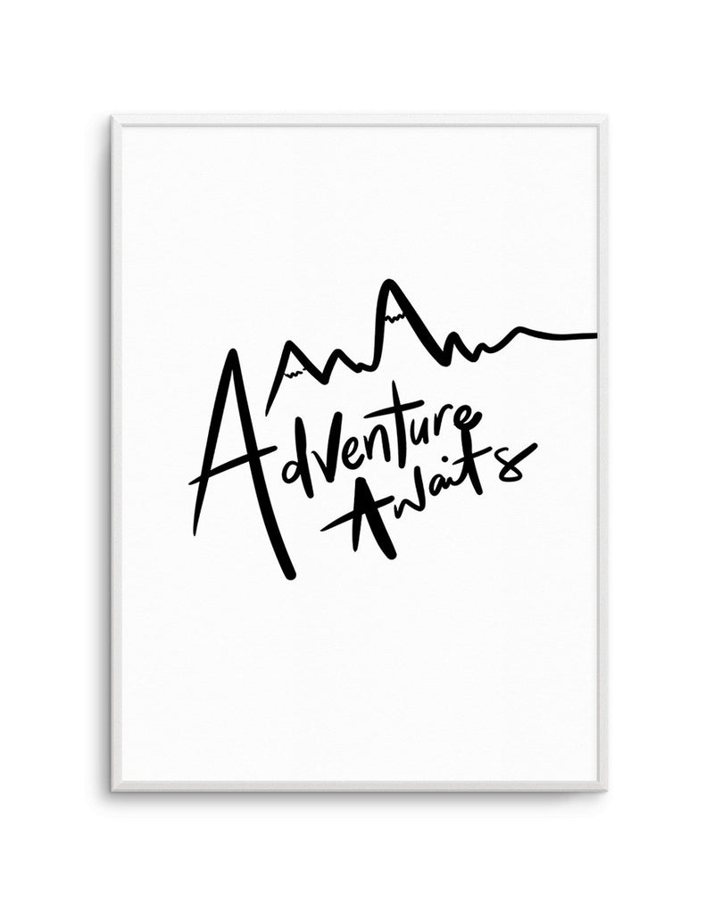 Adventure Awaits - Olive et Oriel | Shop Art Prints & Posters Online