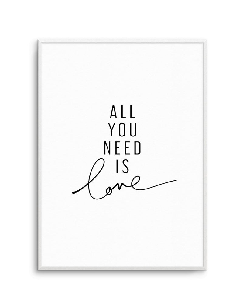 All You Need Is Love - Olive et Oriel