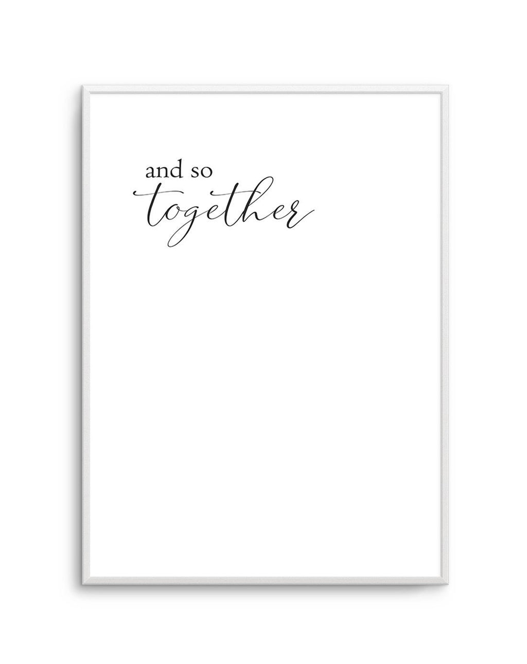 And Together They... - Olive et Oriel