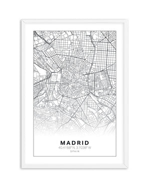 Art Map Of Madrid - Olive et Oriel