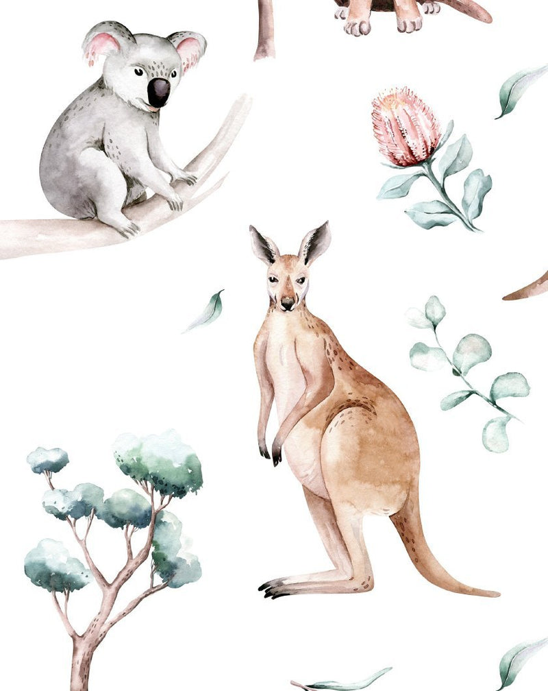 Australian Wildlife Wallpaper - Olive et Oriel