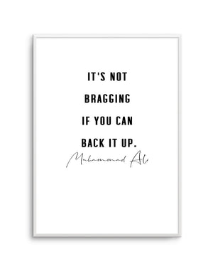 Back It Up | 2 Colour Options - Olive et Oriel | Shop Art Prints & Posters Online