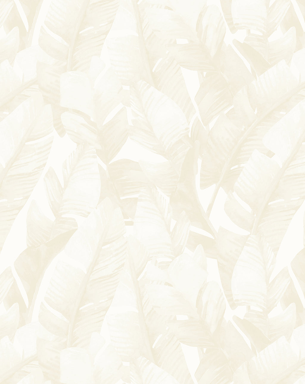 Banana Leaf Palms | Sand Wallpaper