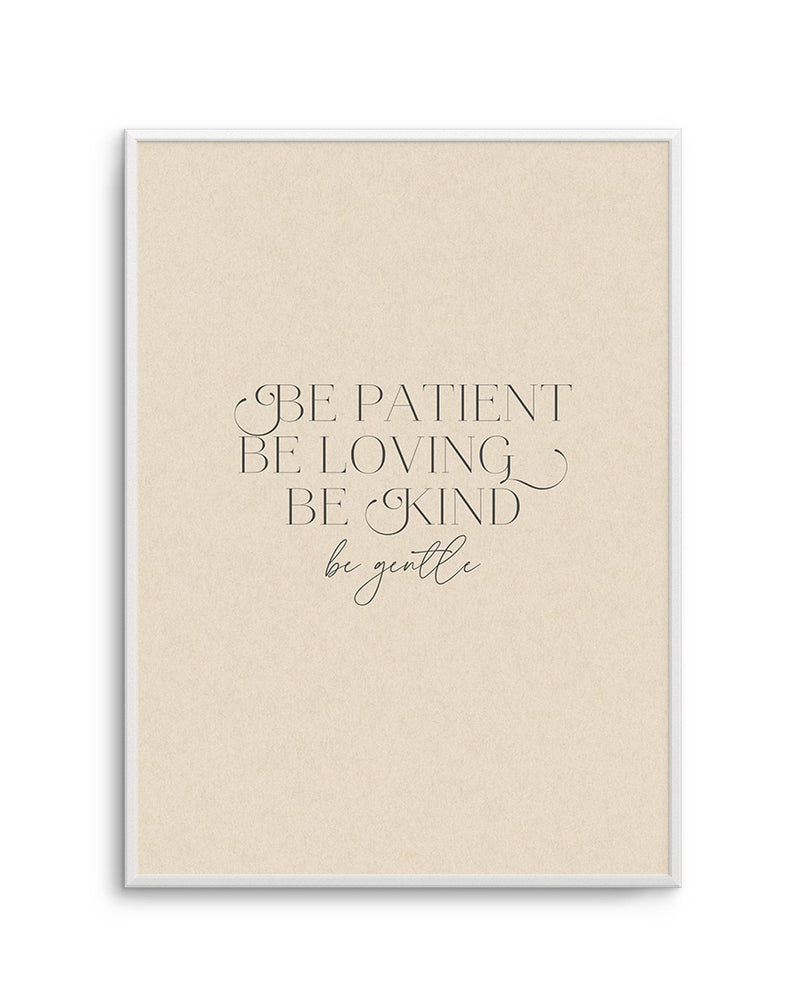Be Patient - Olive et Oriel