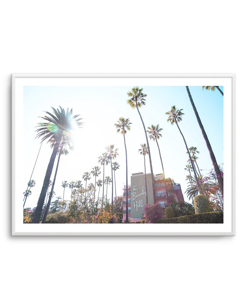 Beverly Hills Hotel Colour No. 1 | LS - Olive et Oriel | Shop Art Prints & Posters Online