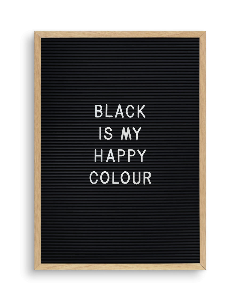 Black Is My Happy Colour - Olive et Oriel | Shop Art Prints & Posters Online