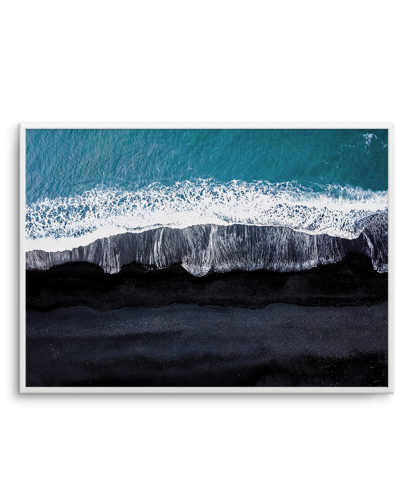 Black Sand Beach | LS - Olive et Oriel | Shop Art Prints & Posters Online