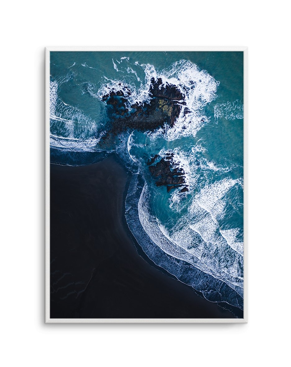 Black Sand Beach | PT - Olive et Oriel | Shop Art Prints & Posters Online