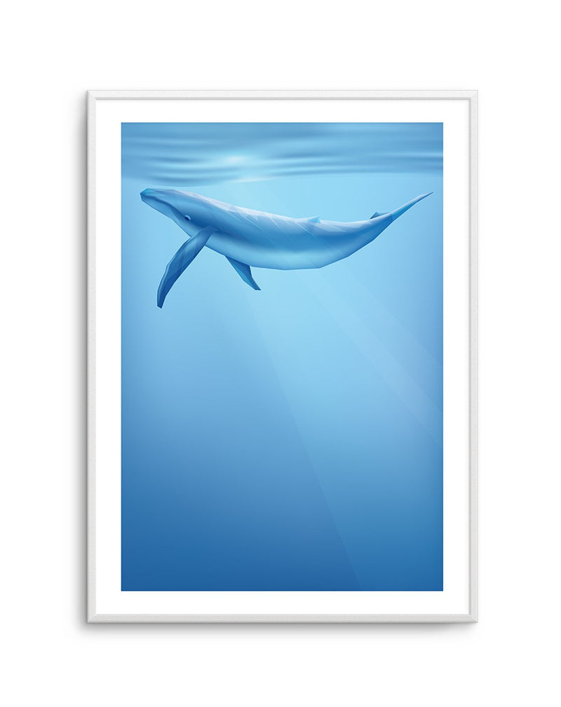 Blue Whale | Graphic Whales Collection - Olive et Oriel