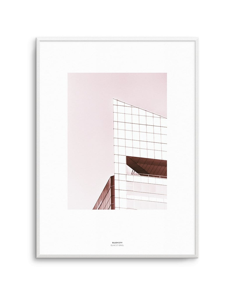 Blush City - Olive et Oriel | Shop Art Prints & Posters Online