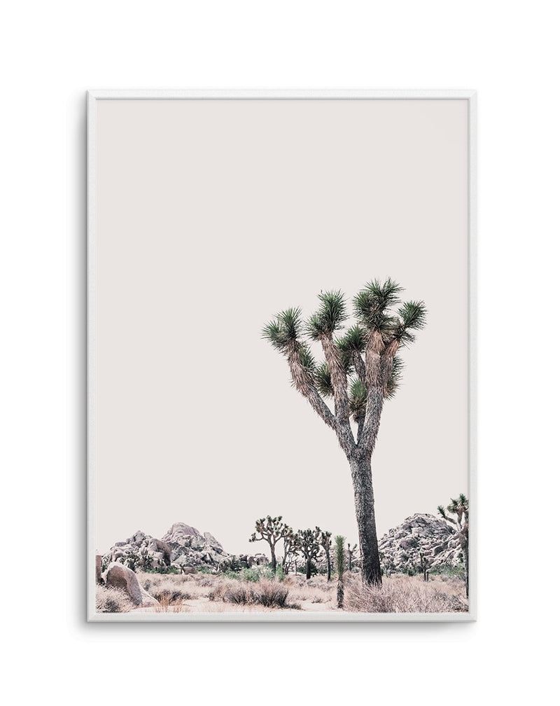 Blushing Joshua Tree No 2 - Olive et Oriel | Shop Art Prints & Posters Online