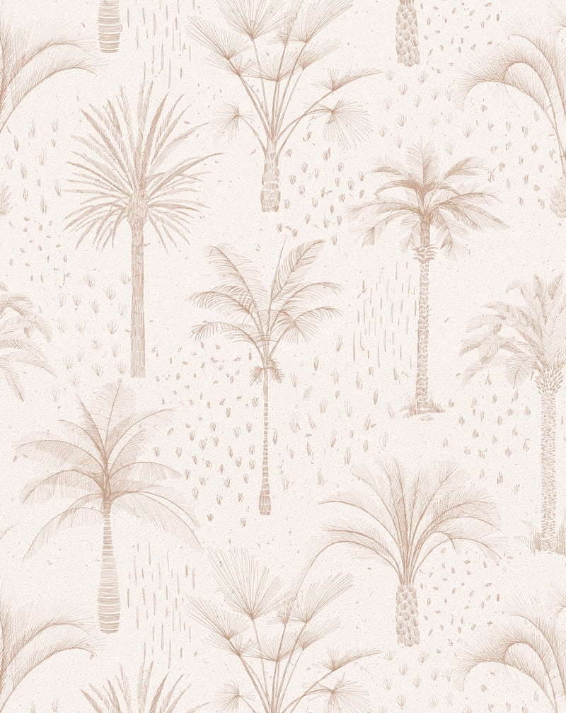 Bohemian Palms Wallpaper