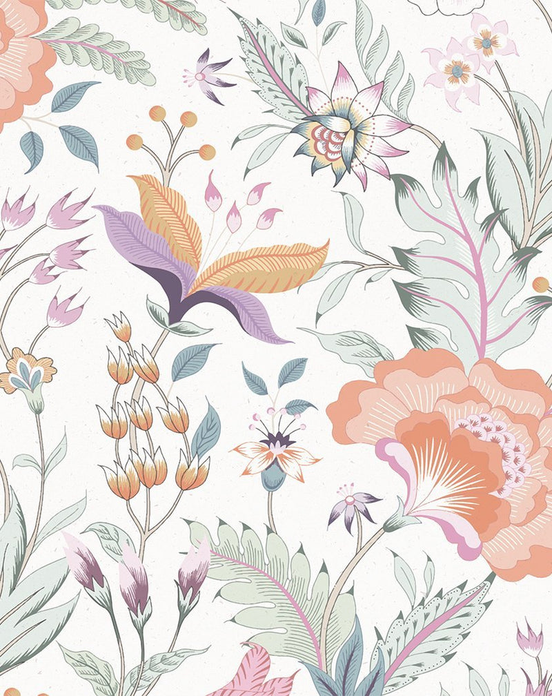 Boho Blooms Wallpaper | Pepper - Olive et Oriel