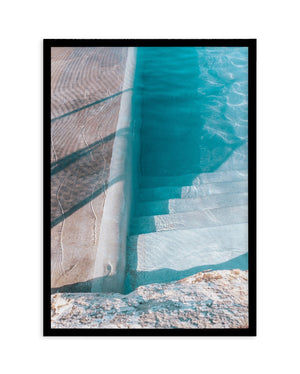 Bronte Pool Abstract No 1 - Olive et Oriel | Shop Art Prints & Posters Online