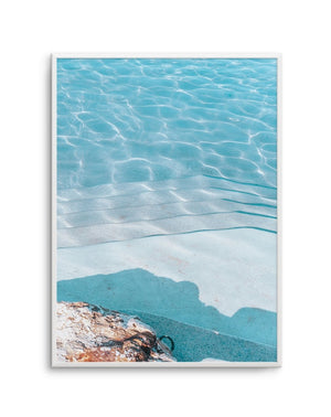 Bronte Pool Abstract No 2 - Olive et Oriel | Shop Art Prints & Posters Online
