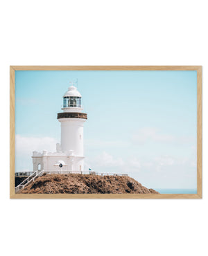 Byron Bay Lighthouse No 2 | LS - Olive et Oriel | Shop Art Prints & Posters Online