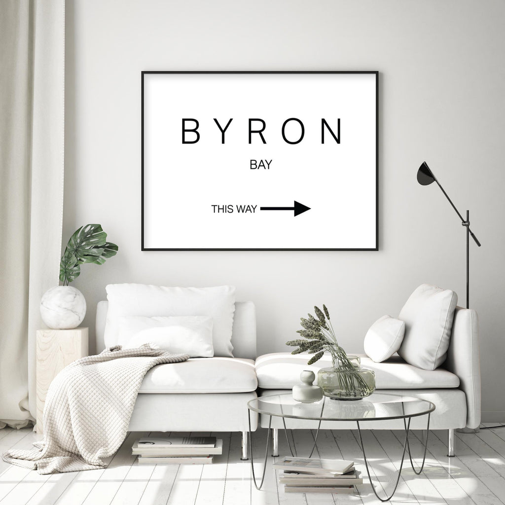 BYRON BAY - THIS WAY - Olive et Oriel