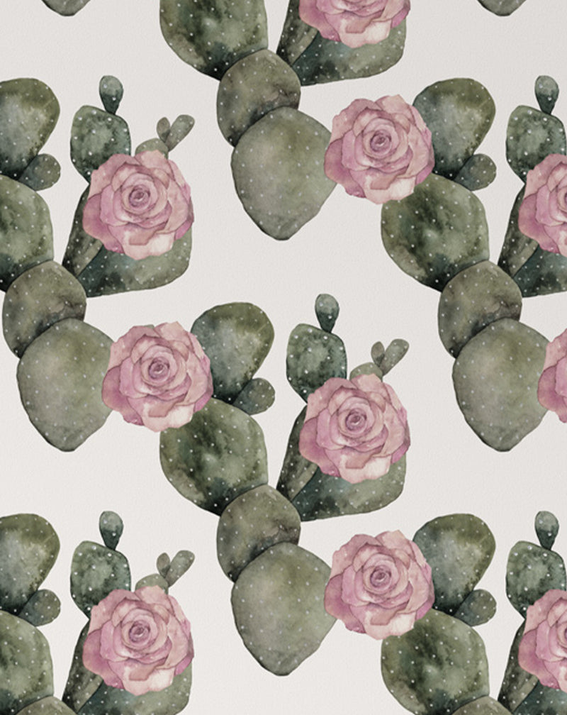 Cactus Rose Wallpaper