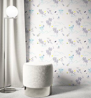 Cali' Dreams Wallpaper - Olive et Oriel