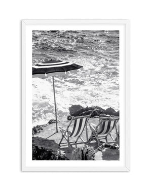 Capri Beach Club B&W II - Olive et Oriel | Shop Art Prints & Posters Online