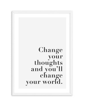 Change Your Thoughts - Olive et Oriel