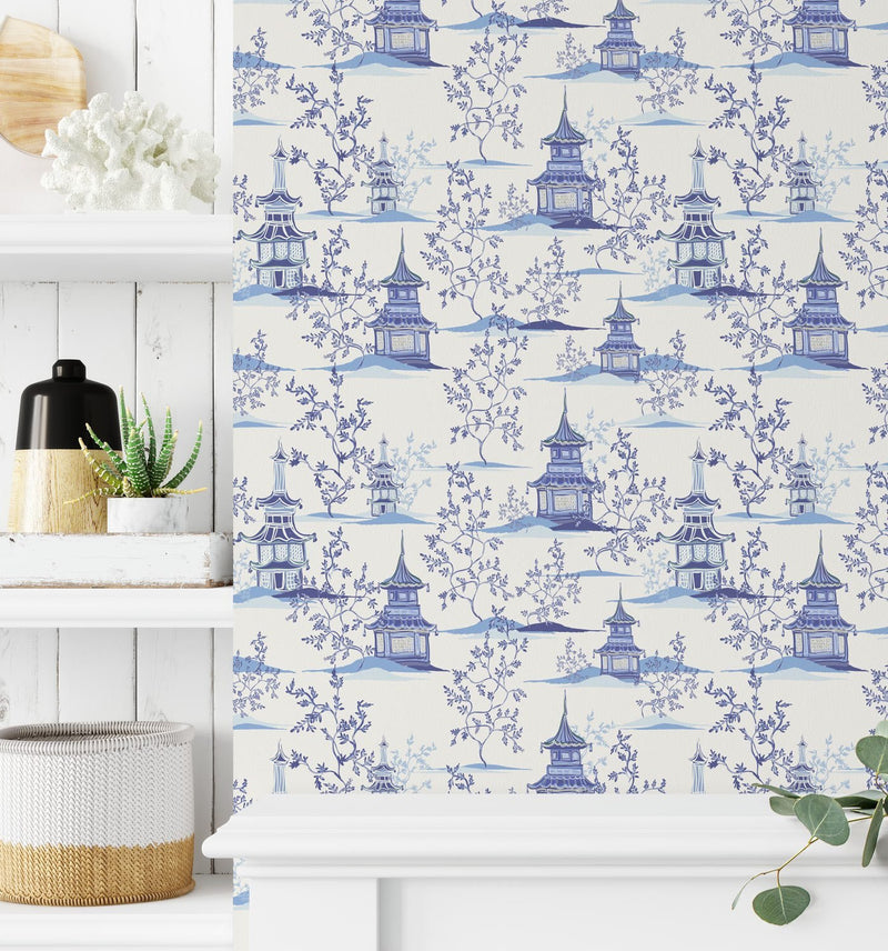Chinoiserie I Wallpaper - Olive et Oriel
