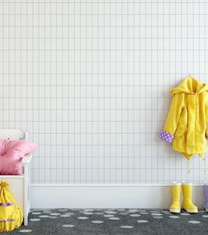 Classics: The Grid Wallpaper - Olive et Oriel