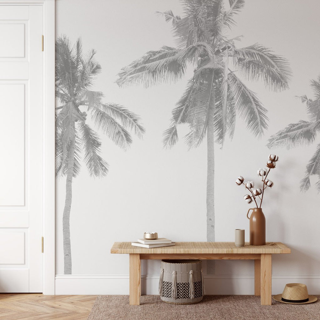 Coconut Palms Wallpaper Mural - Olive et Oriel