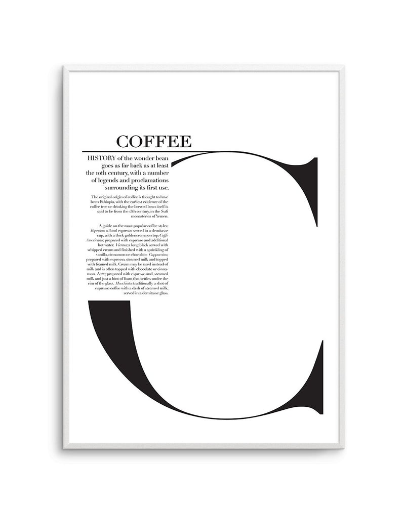 Coffee - Olive et Oriel | Shop Art Prints & Posters Online