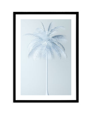Cool In Blue Palm - Olive et Oriel | Shop Art Prints & Posters Online