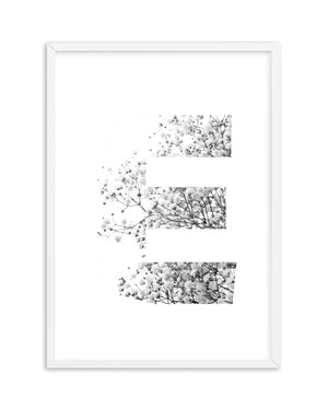 Custom Letter | Babys Breath - Olive et Oriel | Shop Art Prints & Posters Online