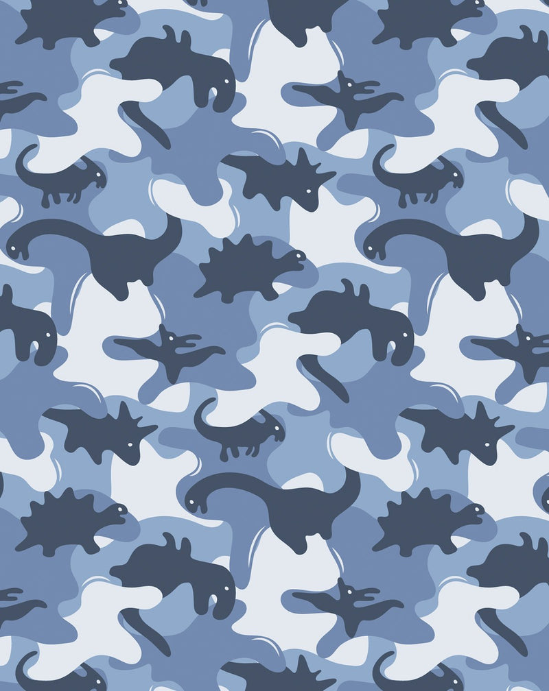 Dinosaurs In Camouflage Wallpaper - Olive et Oriel