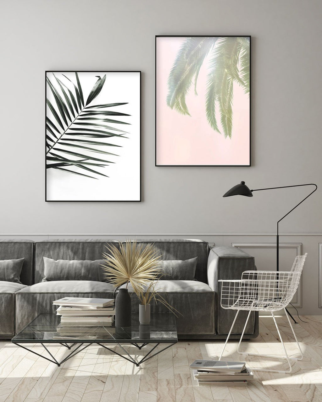 Dreamy Palms No 1 - Olive et Oriel
