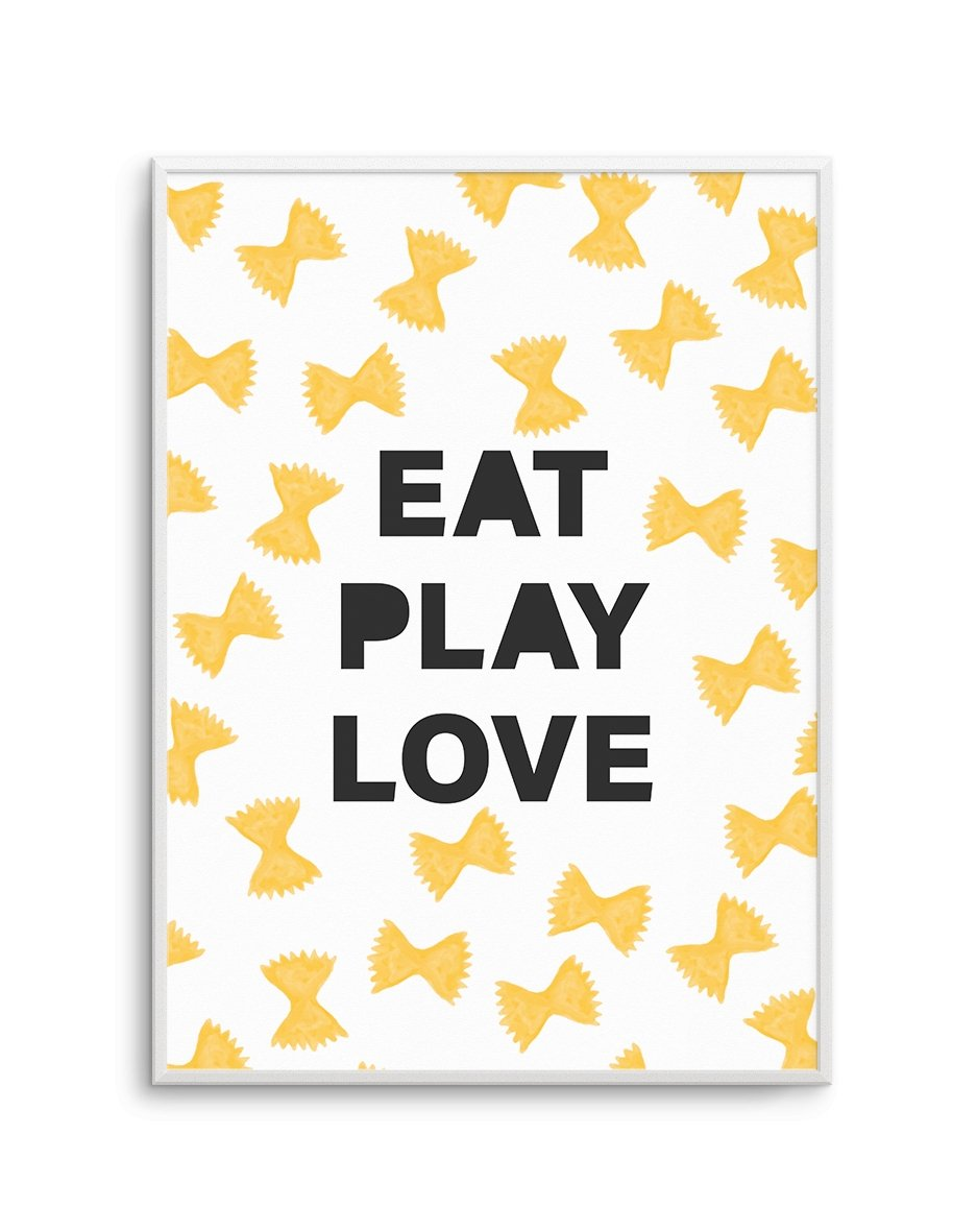 Eat Play Love - Olive et Oriel | Shop Art Prints & Posters Online
