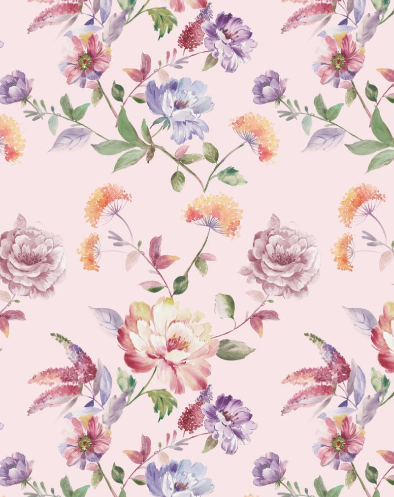 English Rose Wallpaper - Olive et Oriel